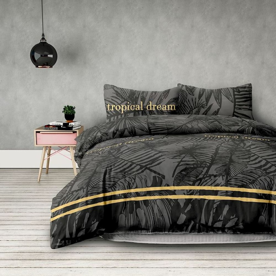 AmeliaHome Obliečky Tropical, 140 x 200 cm, 70 x 90 cm