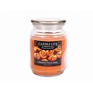 Candle-lite Vonná svíčka Skořice a pekanové ořechy, 510 g