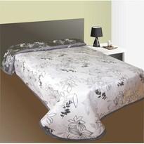 Narzuta na łóżko Lisbon szara, 140 x 220 cm