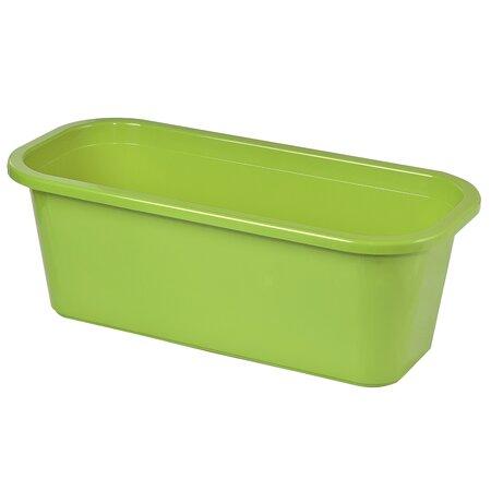 Balkónový truhlík s podmiskou Petunia 40 zelená