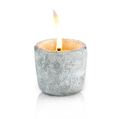 Repelentní svíčka citronela šedá