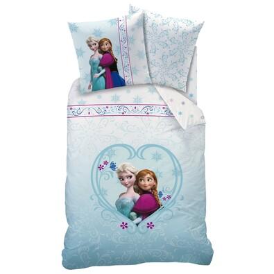 Dětské bavlněné povlečení Ledové království Frozen Nordic, 140 x 200 cm, 70 x 90 cm