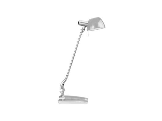 Stolná lampa Ginevra uno, sivá