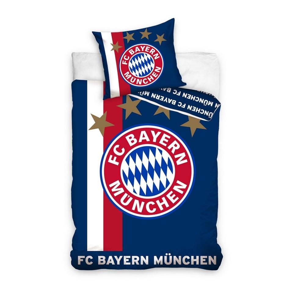 TipTrade Fotbalové povlečení BMFC 01 Bayern, 160 x 200 cm, 70 x 80 cm, 160 x 200 cm, 70 x 80 cm