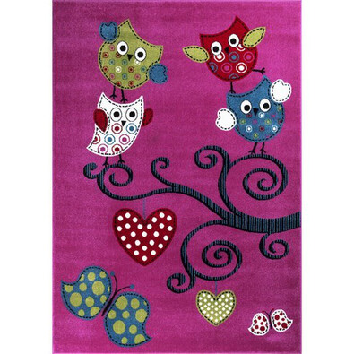 Dětský koberec Kids 420 Lila, 120 x 170 cm