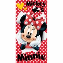 Prosop Jerry Fabrics Minnie red 02, 70 x 140 cm