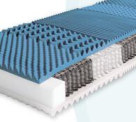 Matrace z mikrotaštičkových pružin, 90 x 195 cm