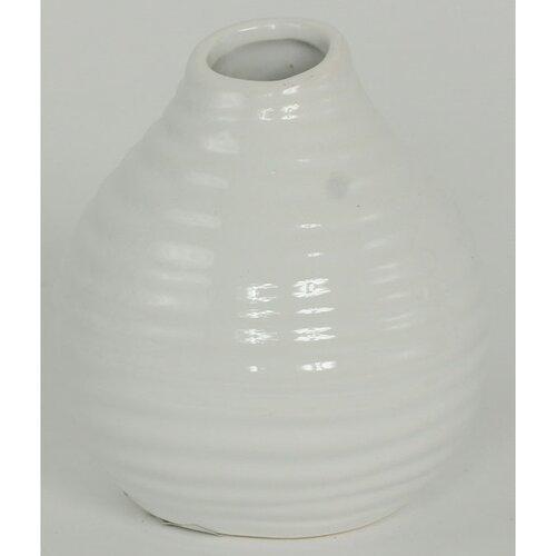 Keramická váza Altea bílá, 11,5 cm