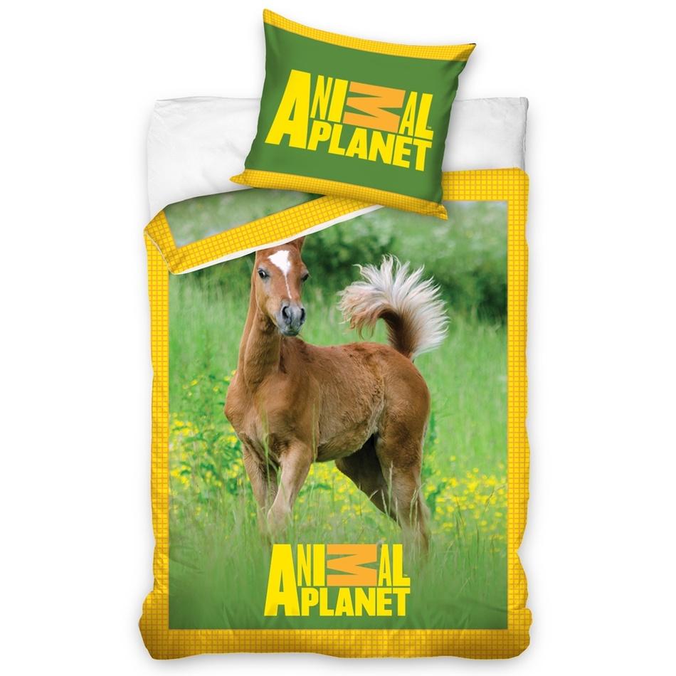 Tip Trade Bavlnené obliečky Animal Planet žriebätko, 140 x 200 cm, 70 x 90 cm