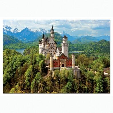 Puzzle Zámek Neuschwanstein, 1500 dílků, vícebarevná
