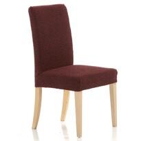 Multielastyczny pokrowiec na krzesło Petra, czerwony, 40 - 50 cm, zestaw 2 szt.