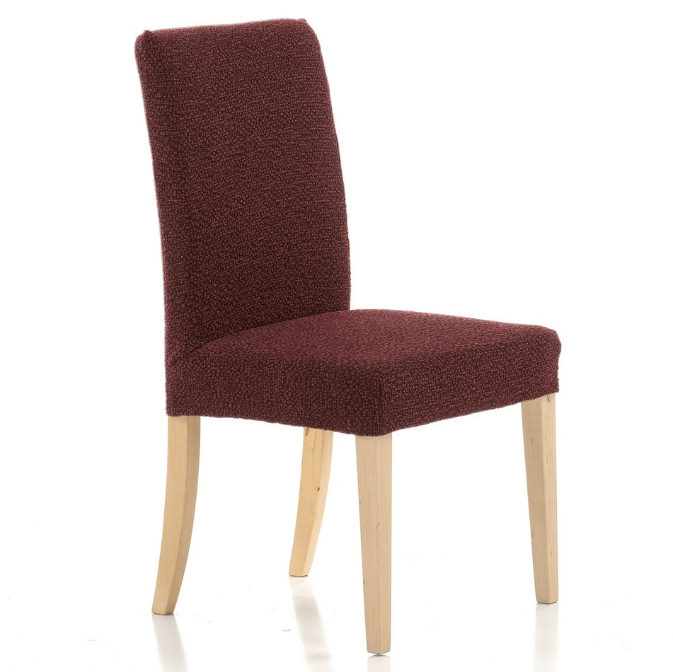 Forbyt Multielastický potah na židli Petra červená, 40 - 50 cm, sada 2 ks