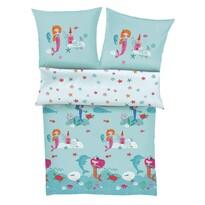 Lenjerie de pat s.Oliver, pentru copii, 5994/600, 135 x 200 cm, 80 x 80 cm