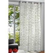 Záclona s kroužky Kai zámecký vzor, 135 x 245 cm