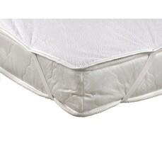 Ochraniacz na materac nieprzepuszczalny poliuretanowy, biały, 90 x 200 cm