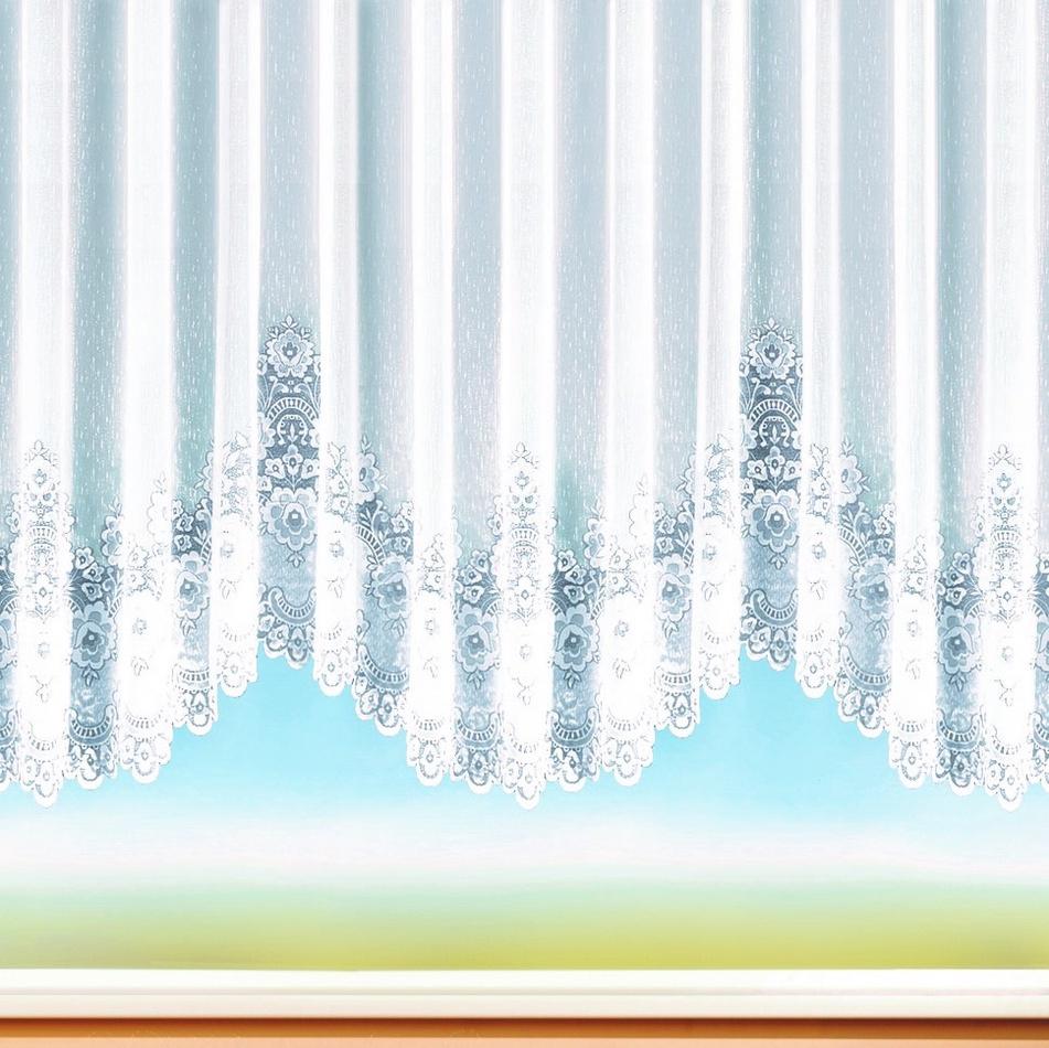 Perdele Albani Bellamy cu boltă, 450 x 145 cm imagine 2021 e4home.ro