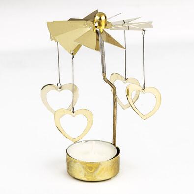 Andělské zvonění zlatá 13 cm