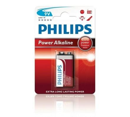 Philips Power Alkaline 9 V alkalická baterie