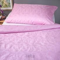 Veba Lenjerie de pat din damasc Geon Bule, roz