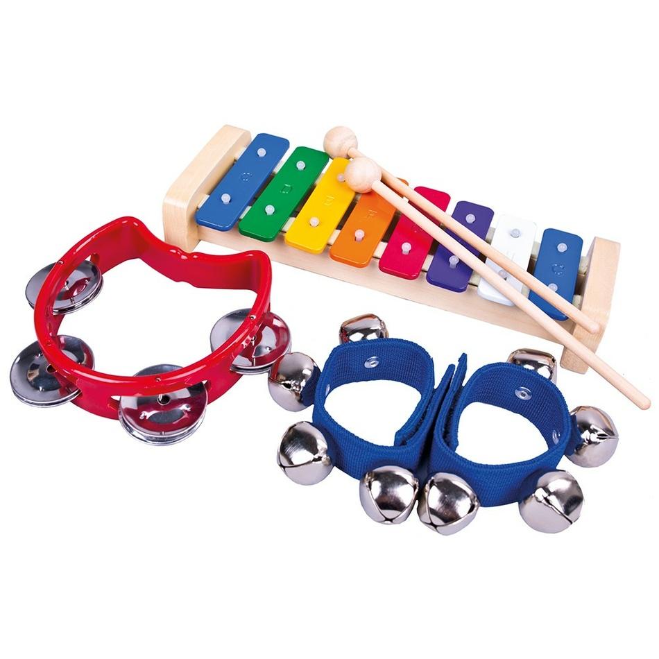 Fotografie Bino Set 3 hudebních nástrojů