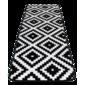Covor din spumă cu memorie Domarex Soft Geometric, 50 x 150 cm