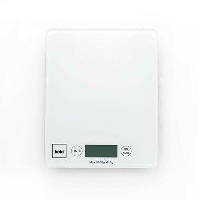 Kela Cântar digital de bucătărie 5 kg PINTA, alb