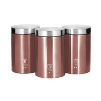 Berlinger Haus 3-częściowy zestaw pojemników na żywność I-Rose Edition
