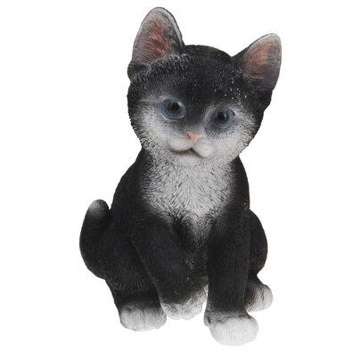 Koopman Kerti dekoráció Macska, fekete