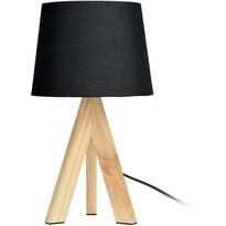 Stolná lampa Atalai, čierna