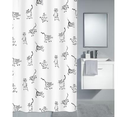 Sprchový závěs Kočky