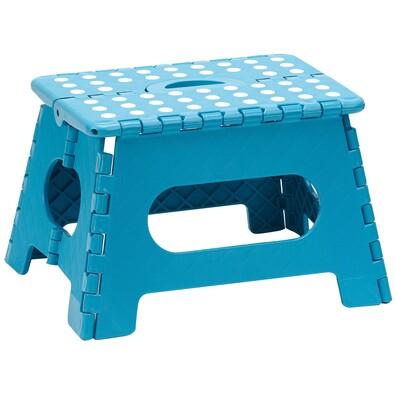 Skládací stolička modrá