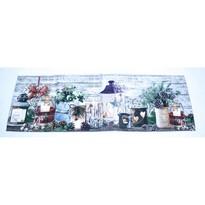Vianočný behúň Svietniky, 40 x 140 cm