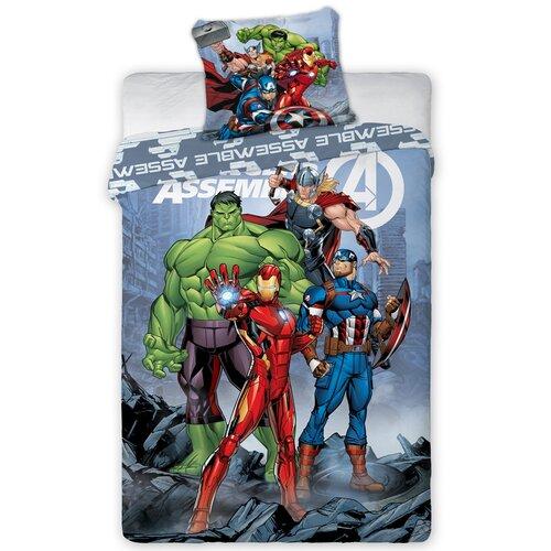 Dětské bavlněné povlečení Avengers Agenti S.H.I.E.L.D, 140 x 200 cm, 70 x 90 cm