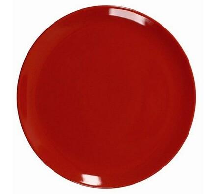 Ambition servírovací talíř červený 32 cm