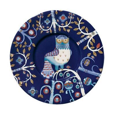 Podšálek Taika 15 cm, modrý