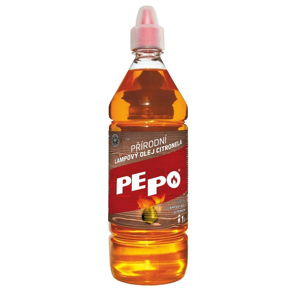 Pepo přírodní lampový olej citronela 1 l