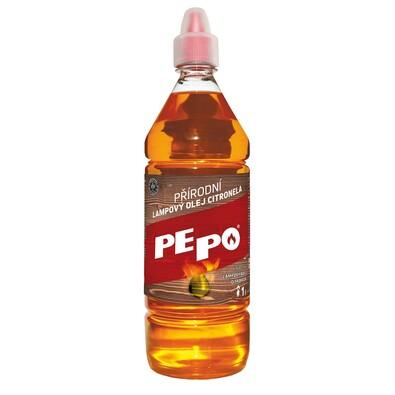 PE-PO Lampový olej Citronela, 1 l