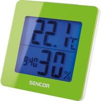 Sencor SWS 1500 GN Termometr z zegarem