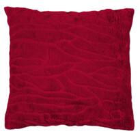 Clara párnahuzat, piros, 45 x 45 cm