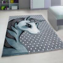Kusový detský koberec Kids 590 blue , 80 x 150 cm