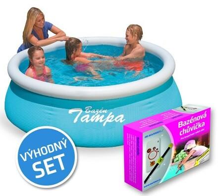 Set bazén Tampa 1,83m navíc bazénová chůvička