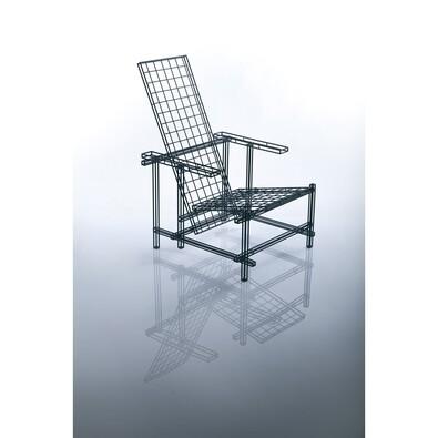 Židle Icon 03, stříbrná