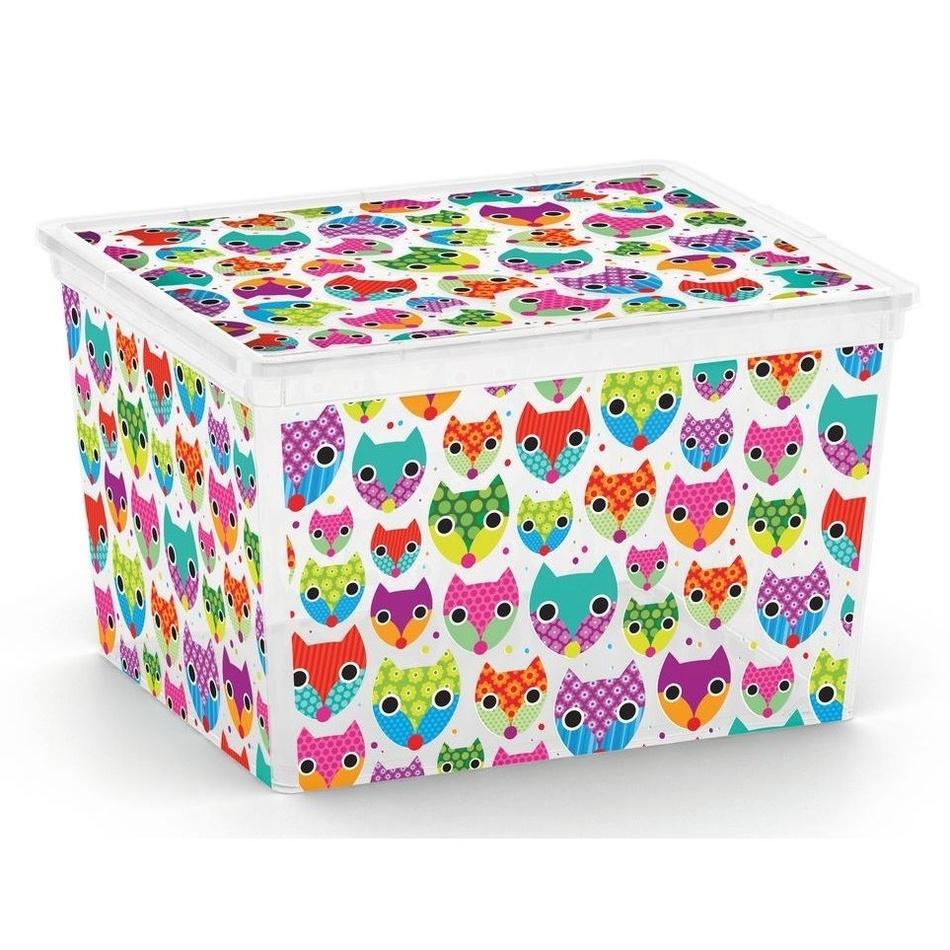 KIS Plastový úložný box C-Box Tender Zoo CUBE 27 L