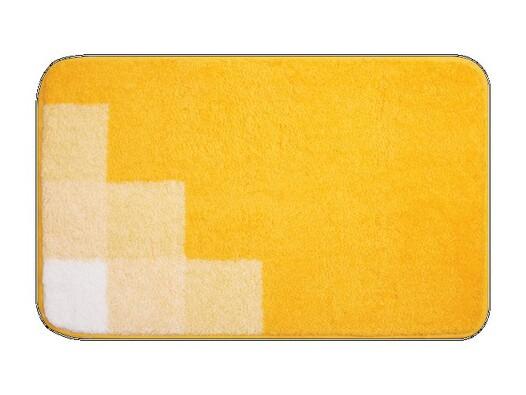 Koupelnová předložka Grund UDINE žlutá, 50 x 80 cm