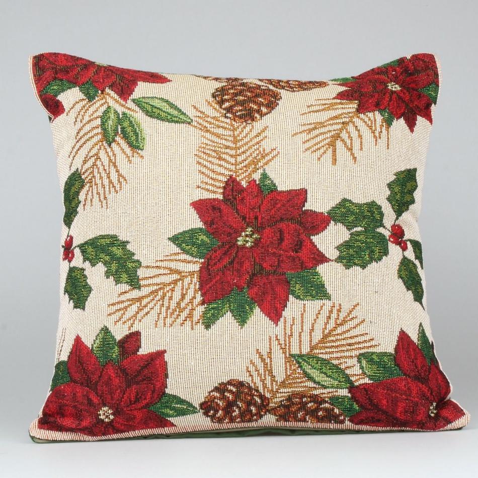 Dakls Povlak na polštář Vánoční hvězda, 40 x 40 cm