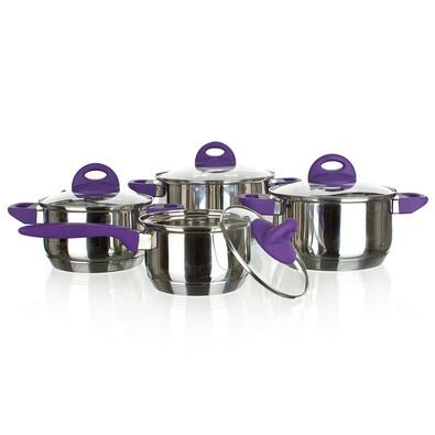 Banquet Famossa Viola 8dílná sada nerez nádobí