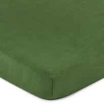 4Home prześcieradło jersey zielony oliwkowy