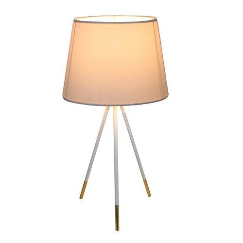 Stolná lampa Jade 5, biela