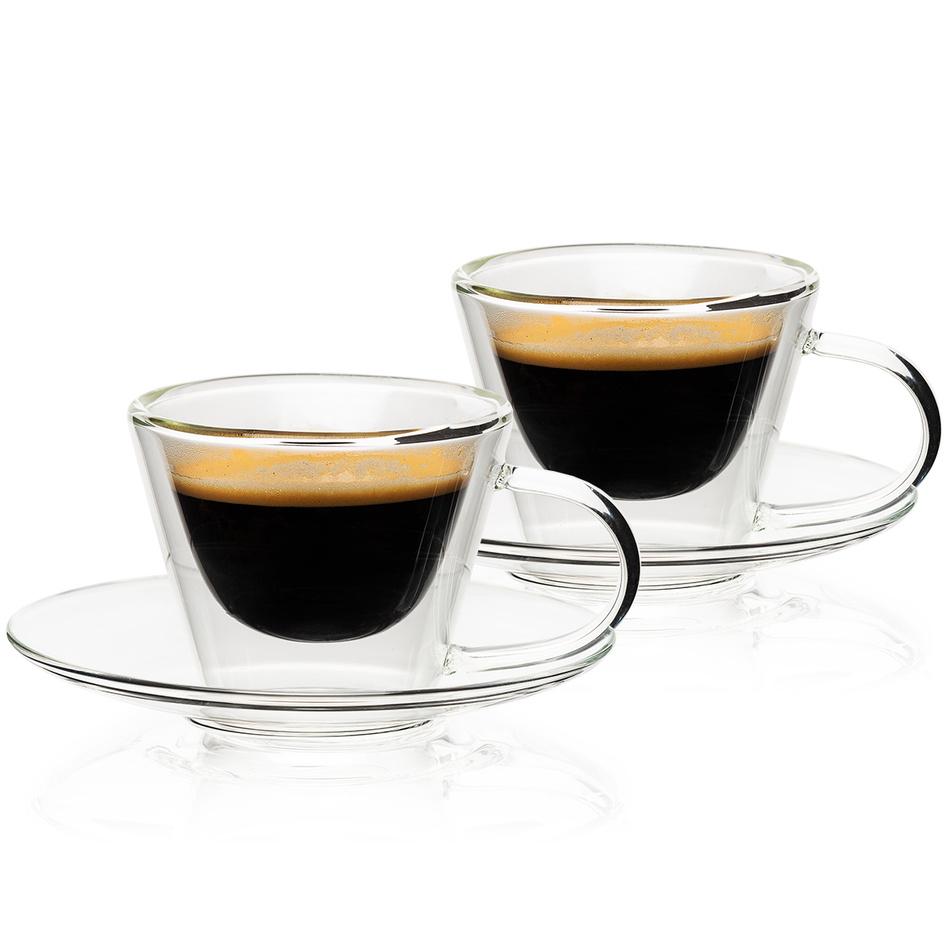 4home Pahare termo espresso Elegante Hot&Cool 80 ml, 2 buc. imagine
