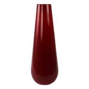 Skleněná váza Luna vínová, 25 cm